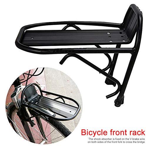 Broadroot Mountainbike Vorne Regal Fahrrad Gepäckträger MTB Radfahren Vordere Halterung Rack Aluminiumlegierung
