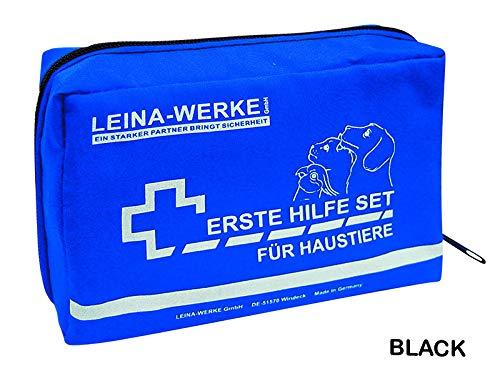 LEINAWERKE 52002 Erste Hilfe-Set für Haustiere, weiß-schwarz, 1 Stk.