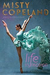 misty copeland blue ballerina costume book cover