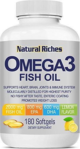 Natural Riches Omega 3 Fish Oil