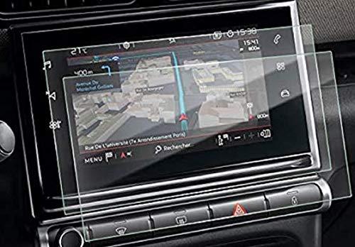 SKTU - Protector de pantalla para C*itroen C3 / C3 Aircross / C4 de 9,7 pulgadas, protector de pantalla transparente