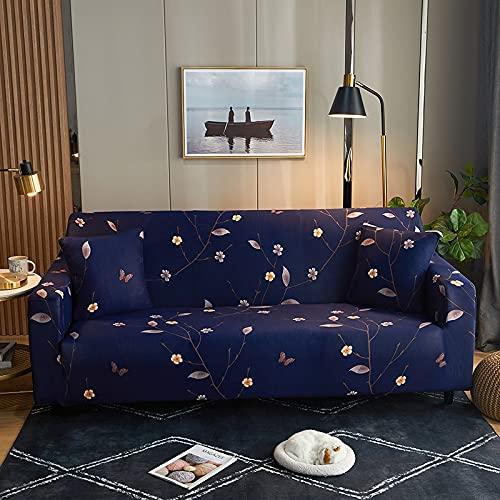WXQY Sillón de Sala de Estar Funda de sofá Impresa de Estilo nórdico, Funda de sofá Todo Incluido geométrica Creativa Antideslizante A12 1 Plaza