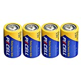 D Cell 1.5V R20P Heavy Duty D UM-1 Battery 4Pcs