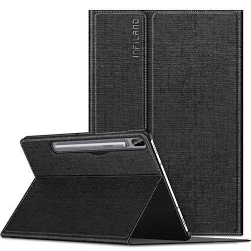 Infiland Case for Samsung Galaxy Tab S6 10.5, Front support Case Compatible with Samsung Galaxy Tab S6 10.5 inch SM-T860/SM-T865 2019 Release,Black