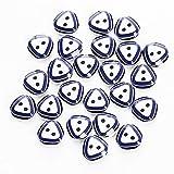Gemelos Botón de costura de triángulo de resina Paquete de 10 bolsas 240 piezas Botones artesanales Colores surtidos for manualidades DIY Proyecto hecho a mano Manual de niños Botón de pintura Botón m