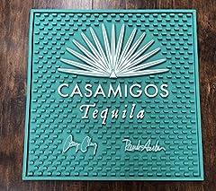 1 Signature Casamigos Tequila Waitstation Bar Mat 15 x 15 Commercial Grade