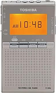 東芝 ワイドFM/AMポケットラジオTOSHIBA TY-SPR6-N