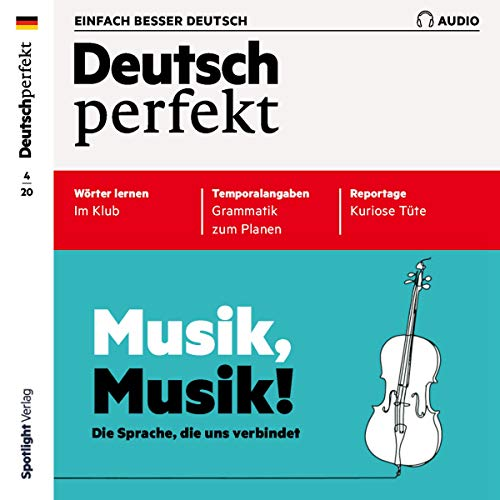 Deutsch perfekt Audio 4/2020 cover art