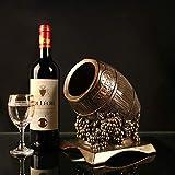 DAMAI STORE Artesanías De Resina Estante del Vino Al por Mayor Creativos Minimalistas Modernas Cubas De Vino Estilo Se Preocupan De Regalos del Hotel (18 * 16.5 * 21cm)