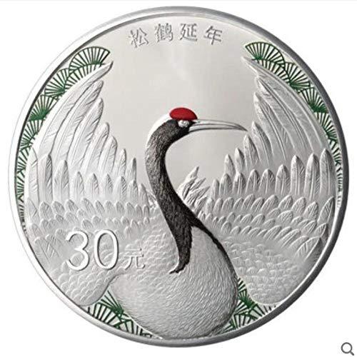 NKJWHB 2020 Glückverheißende Kultur Gold- und Silbermünze China Songhe Yannian Silbermünze Zentralbank gibt echte Produkte aus