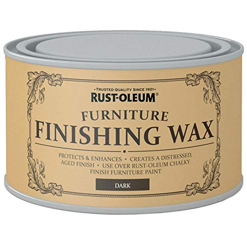 Rust-Oleum Furniture Finishing Wax Dark - 400ml by Rustoleum