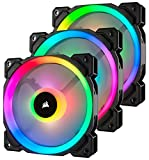 Corsair LL Series LL120 RGB 120mm Dual Light Loop RGB LED PWM Fan 3 Fan...