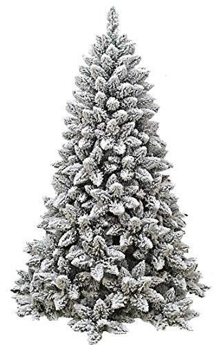manieri Albero di Natale Artificiale Innevato 240 cm 1465 Rami Monterey Floccato