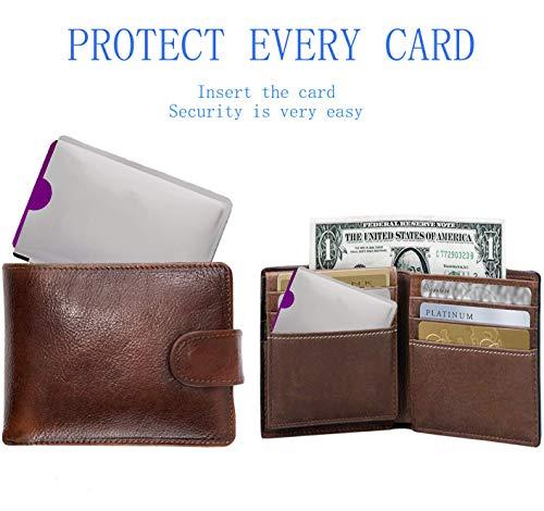RFID Blocking Sleeves 10 Credit Card and 2 Passport Protectors Photo #7