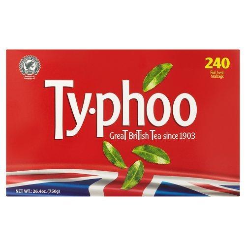 Typhoo Tea 240 Btl. 750g - Schwarzer Tee