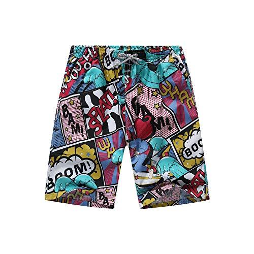 Zomer Korte Broek voor Mannen, Jongens, Heren strand shorts, sneldrogend ademend bedrukte zomer, ZOMER POLYESTER COTTON BEACH FITNESS