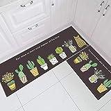 OPLJ Cocina Alfombrillas Antideslizantes y Resistentes a la Suciedad Cuarto de baño Pasillo Alfombra Absorbente Alfombra de la Puerta de Entrada Balcón Dormitorio A16 40x60cm