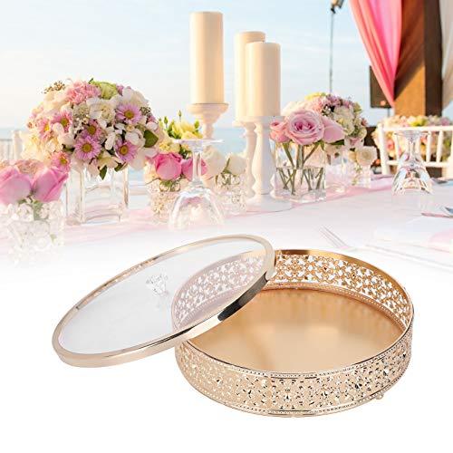 Tarro de dulces, práctico estuche de joyería duradero, aniversarios para la tienda, joyería, cumpleaños para accesorios de boda(L)
