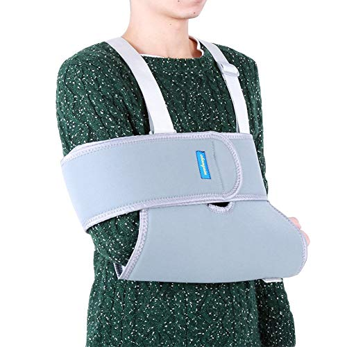 Arm Sling Shoulder Immobilizer Rotator Cuff Elbow Support Brace Adjustable Strap Medical Sling for Men and Women