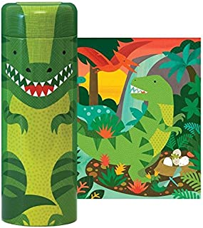 Petit Collage Dinosaur 64 Piece Tin Canister Puzzle