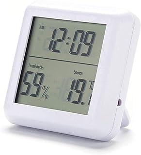 YIN YIN, higrómetro de la Temperatura, en el Interior de oficinas termómetro higrómetro seco Gran Pantalla termómetro Digi...