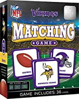 MasterPieces NFL Minnesota Vikings Matching Game, for Ages 3+