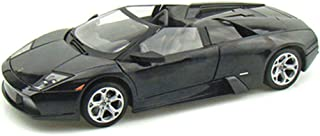 Motormax Lamborghini Murcielago Roadster Black 1/18 Diecast Model Car By