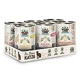 Wildes Land   Probierbox   6 x 400 g   Nassfutter   Katzenfutter