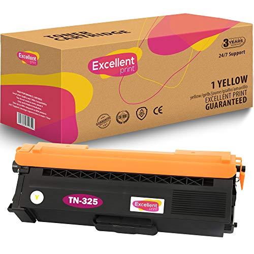 Excellent Print TN-325 Compatible Cartucho de Toner para Brother DCP-9050CDN DCP-9055CDN DCP-9270CDN HL-4140CN HL-4150CDN HL-4570CDW HL-4570CDWT MFC-9460CDN MFC-9465CDN MFC-9970CDW