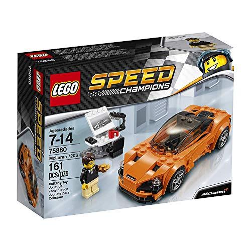 LEGO Speed Champions - Coche McLaren 720S, Coche Deportivo de Juguete para Construir (75880)
