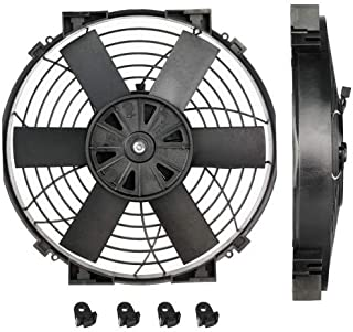Davies Craig DC-0147 Slimline Thermatic Electric Fan 10 Diameter 696 CFM 12-Volt