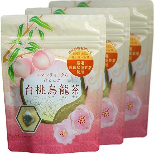 天保堂 白桃烏龍茶 厳選 凍頂烏龍茶葉 使用 2.5g×8ティーバッグ×3袋入り