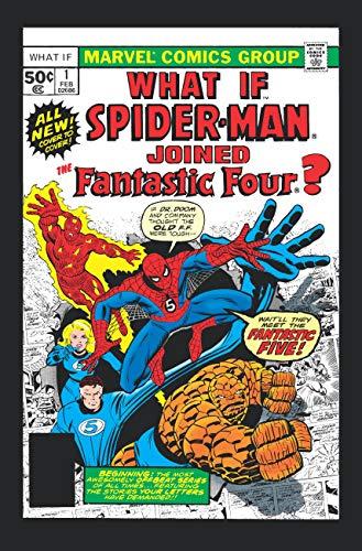 WHAT IF?: THE ORIGINAL MARVEL SERIES OMNIBUS VOL. 1 HC SPIDER-MAN/FANTASTIC FOUR COVER