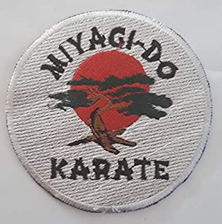 Shihan Cobra Kai Patch en Tissu Motif Karat/é Kid No Mercy Strike First Strike Hard