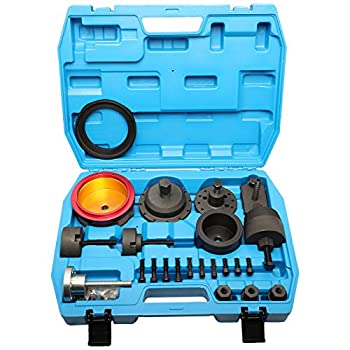 MR CARTOOL Crankshaft Seal Removal & Installation Tool Kit Crankshaft Front and Rear Oil Seal Remover and Installer Kit Compatible with BMW N20 B38 N42 N45 N46 N52 N53 N54 N55 Engine
