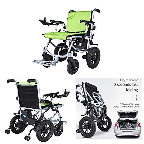 KFMJF Elektrorollstuhl/Behinderte FüR äLtere Menschen/Intelligenter Leichtgewichtrollstuhl/Klapp- / Stuhlantrieb Mit Elektroantrieb Oder Manueller Rollstuhl- / Lithiumbatterie