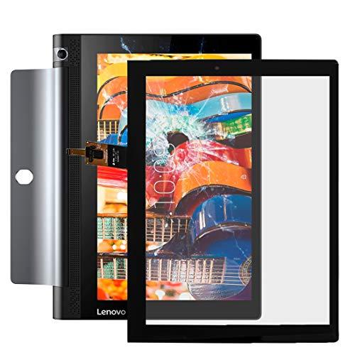 Handy-Reparatur-Ersatzteile for Lenovo Yoga tab 3 10 Zoll / yt3-x50f Touch Panel (schwarz) (Farbe : Schwarz)