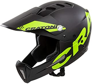 <h2>Cratoni All Mountain Helm Shakedown M-L 57-61 cm, Black-Lime schwarz-Gruen</h2>