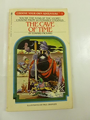 Cave of Time (Choose Your Own Adventure, No. 1) by Packard, Edward(August 1, 1982) Mass Market Paperback
