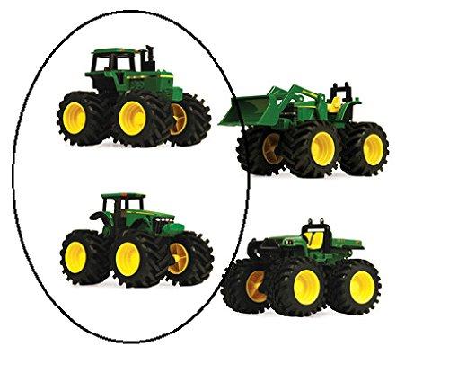 John Deere Monster Treads 2-Pack Assortment -Tractor