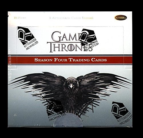 2015 Game of Thrones Season 4 Trading Cards Factory Sealed Box