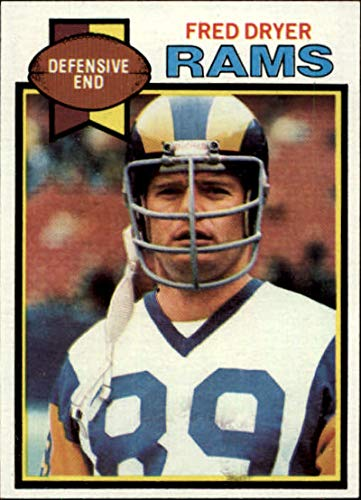 1979 Topps #453 Fred Dryer Los Angeles Rams NFL Football Card EX Excellent