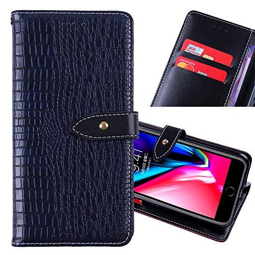 ZYQ Dark Blau Flip Leder Tasche Für Lenovo Phab 2 Plus TPU Silikon Schutz Hülle Brief Hülle Cover Etui Klapphülle Handytasche