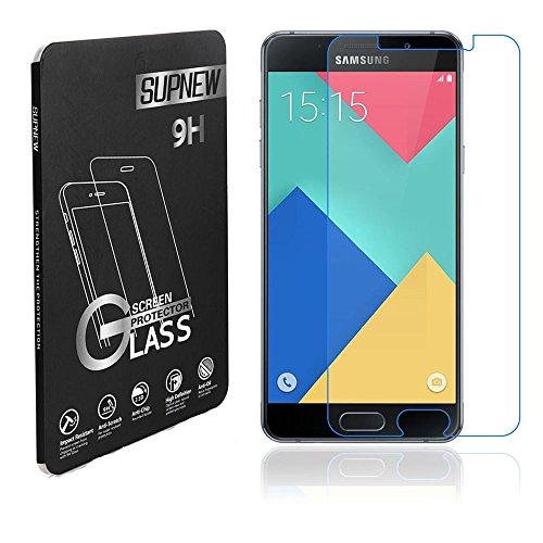 [2-Pack] Samsung Galaxy A3 (2016) Pellicola Protettiva, Supnew Premium in Vetro Temperato per Samsung Galaxy A3 (2016)