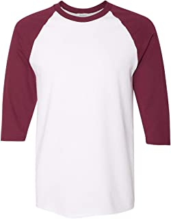 Gildan mens Heavy Cotton ¾-Sleeve Raglan (G570)