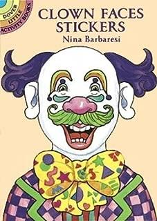 Clown Faces Stickers (Dover Little Activity Books)