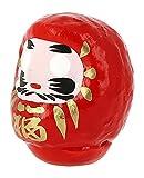 Tierra Zen KP13–Daruma Piccolo, 4.5x 3x 4cm, Colore: Rosso