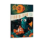 xingqisi Poster, Motiv: Findet Nemo Mondo, Leinwand,
