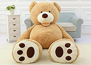 YXCSELL 11 FT 134 Inches Huge HugFun Giant Teddy Bear Light Brown Stuffed Plush Animal Toy Perfect Gift for Grown ups