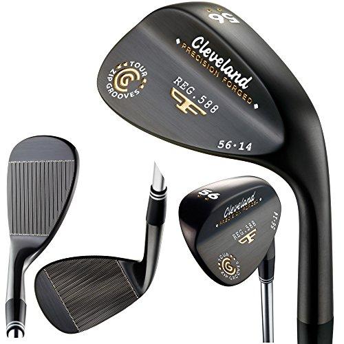 Cleveland Club de golf pour gaucher Noir perle 60 degrés